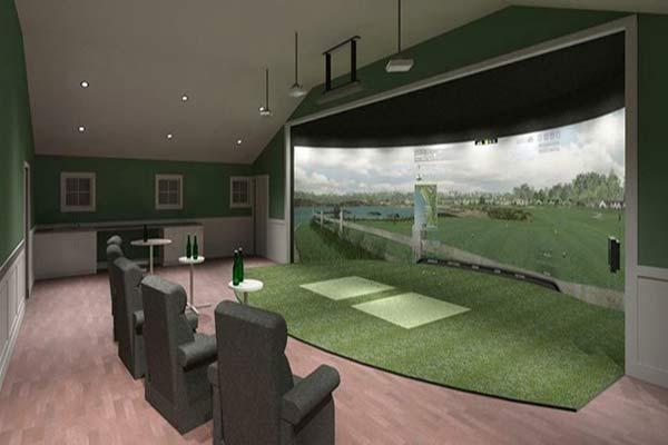 Floor Mounted Golf